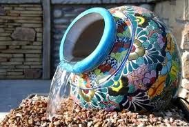 a water feature you could make yourself.