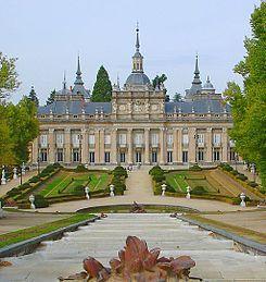 La Granja Palacio. Palacio Real de la Granja de San Ildefonso. España. Una de las residencias de la familia real española.