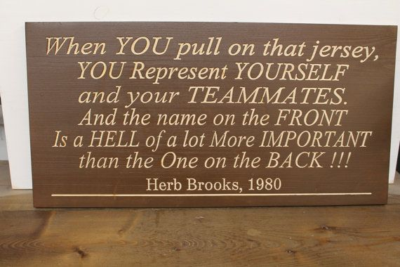 Herb Brooks Hockey garage man cave Rules by Timberlinewoodworks, $49.00