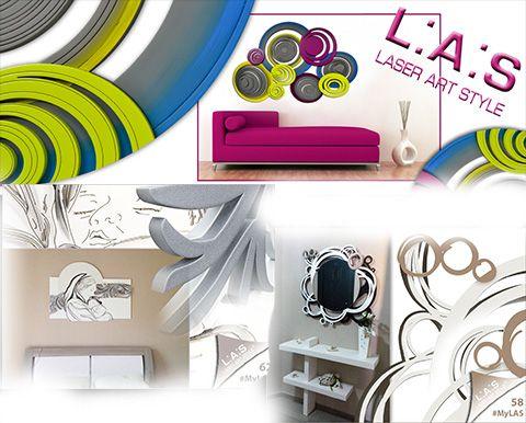 Laser Art Style Made in #Italy 100%... bit.ly/1APSRb5  #Arredo #Home #Quadri #Orologi #Cornici #Bomboniere
