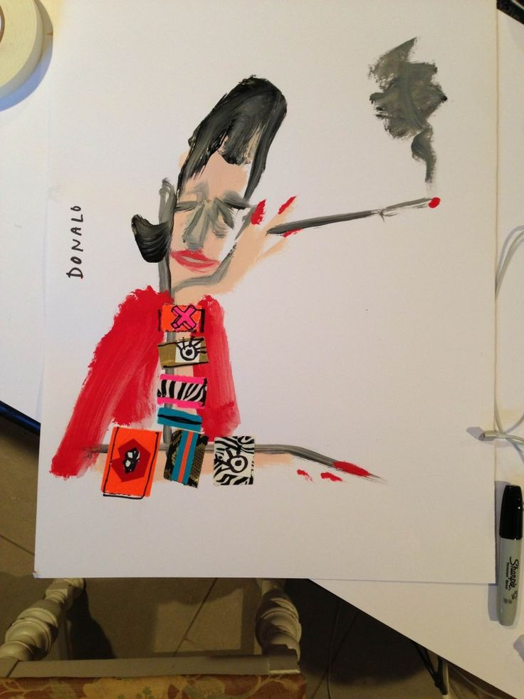 "Artist Spotlight Series: Donald ""Drawbertson"" Robertson / The English Room Blog"