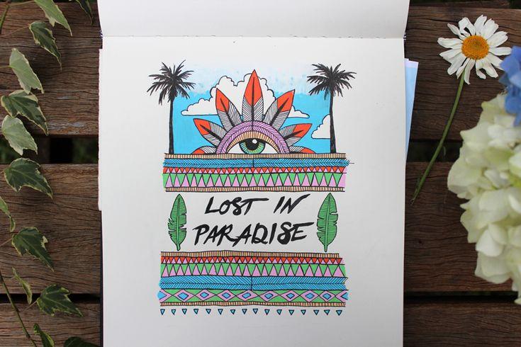 Sketchbook: Lost in paradise