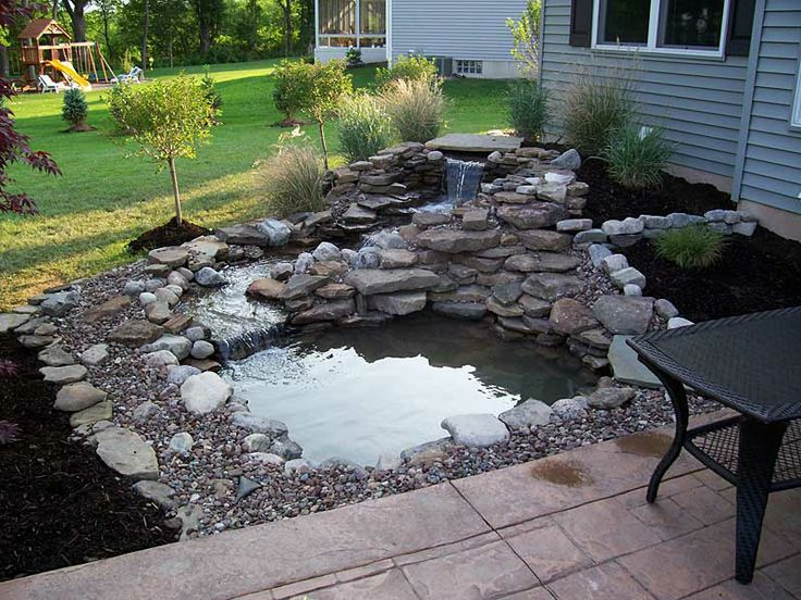 30 best pond ideas images on pinterest | backyard ideas, pond ... - Patio Pond Ideas