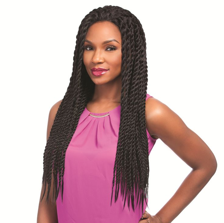 SENSATIONNEL EMPRESS Lace Wig - Senegal Chic Twist Braids