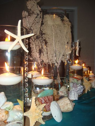 16 Best Images About Under The Sea Beach Themed Centerpieces And Decor On Pinterest Starfish