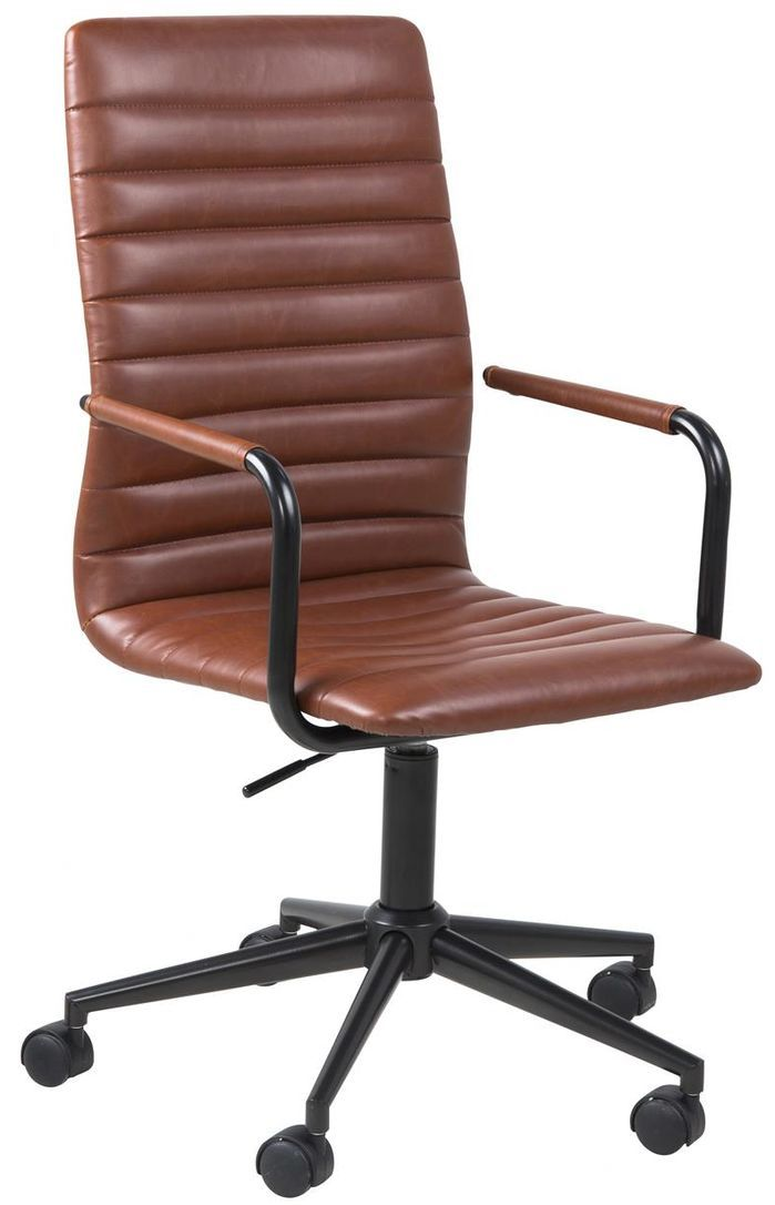 aspera 10 executive office nappa leather brown. osoyoos midback executive office chair aspera 10 nappa leather brown 0