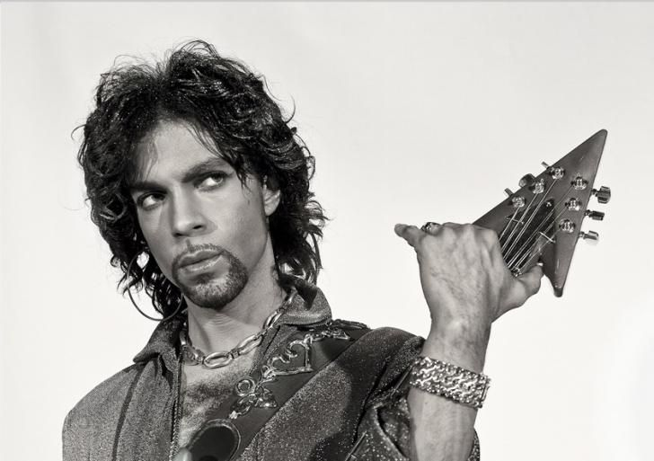 "Parke, who designed album covers and sets for Prince's tours, began photographing the singer at the star's request. The images are <a href=""http://www.soniceditions.com/gallery/prince"" target=""_blank"">available</a> as prints."