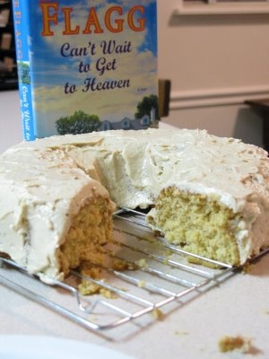 """Fannie Flagg's Caramel Cake recipe from her book """"Can't Wait to Get to Heaven""""."""
