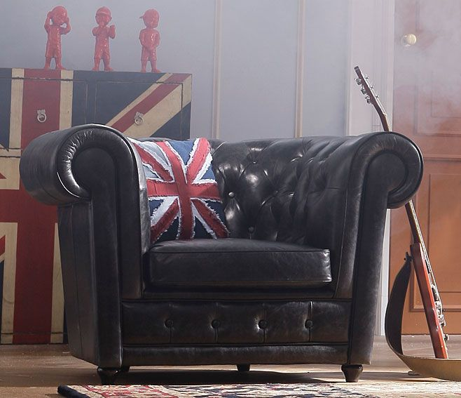 Sofa Chester Antic 1 plaza - Chester Sofa Antic 1 place