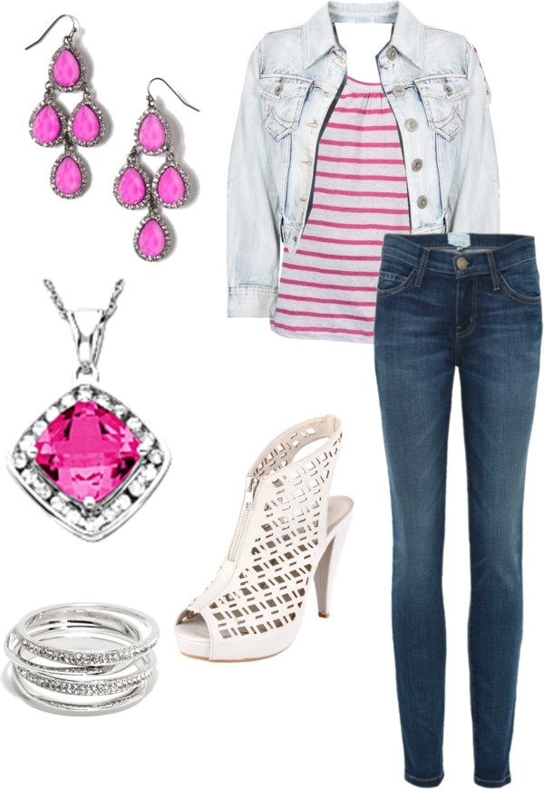 """""""Barbie Life in the Dreamhouse: Outfit Two"""" by fashionandflames on Polyvore"""