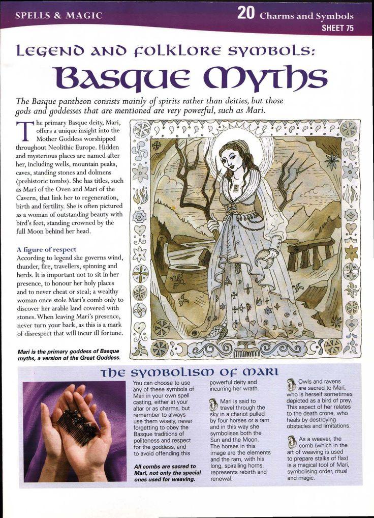 Legend and Folklore Symbols: Basque Myths