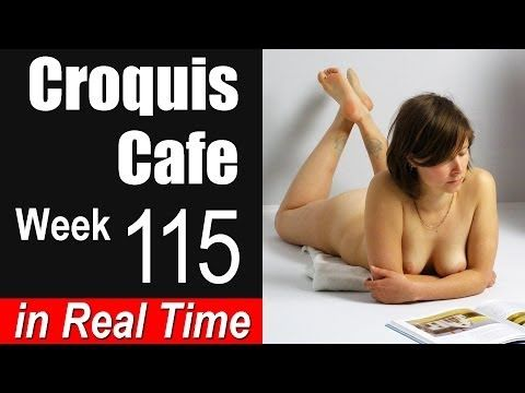 ▶ www.OnAirVideo.com presents The Croquis Cafe, a figure drawing session recorded in real time, featuring models in artistic poses. This week's model is Heather. The purpose is to give artists the opportunity to draw from the human figure when they can't get to a life drawing class. Poses are timed for 1, 2 and 5 minute periods. This resource is presented by On Air Video, producers of art instruction videos.