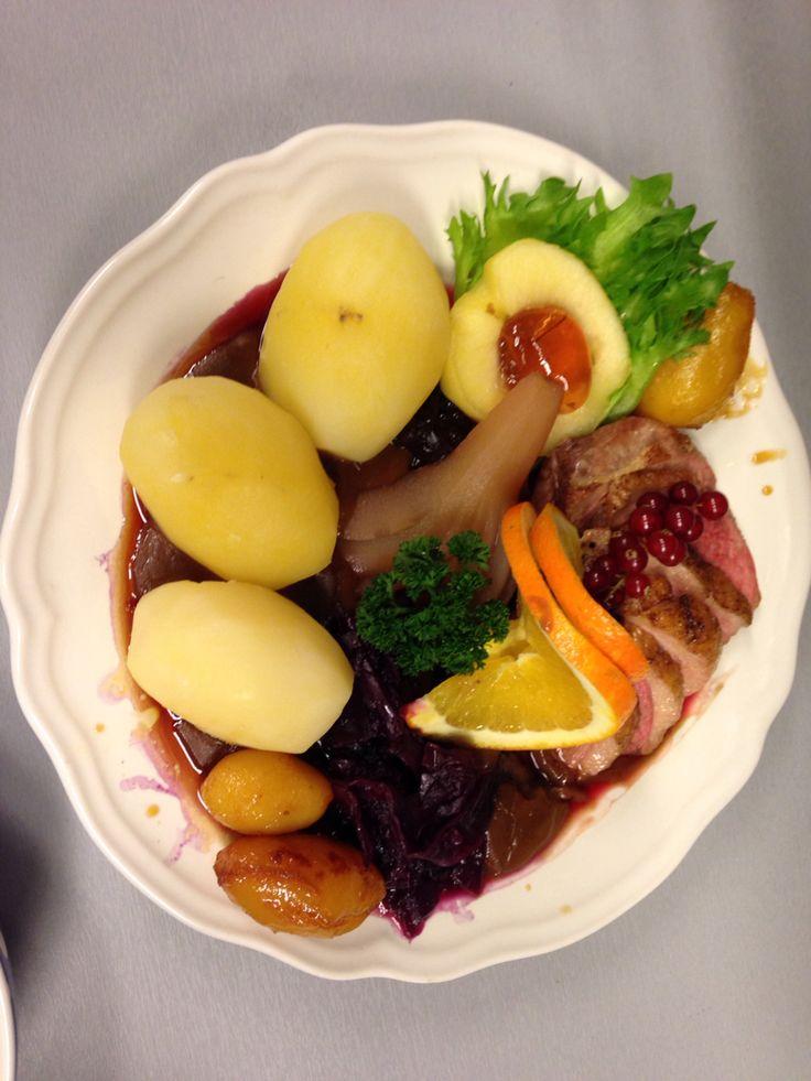 Dinner in Wesselgården sannidal