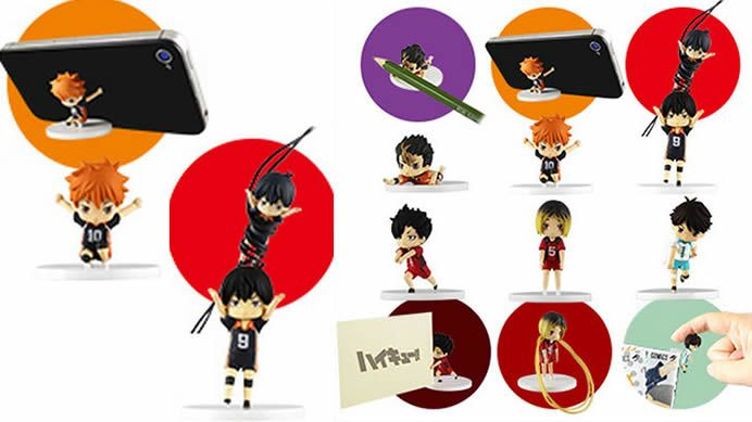 Haikyuu desktop figurines keep your desk organized