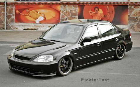 Honda Civic 4 Door Jdm #Garage