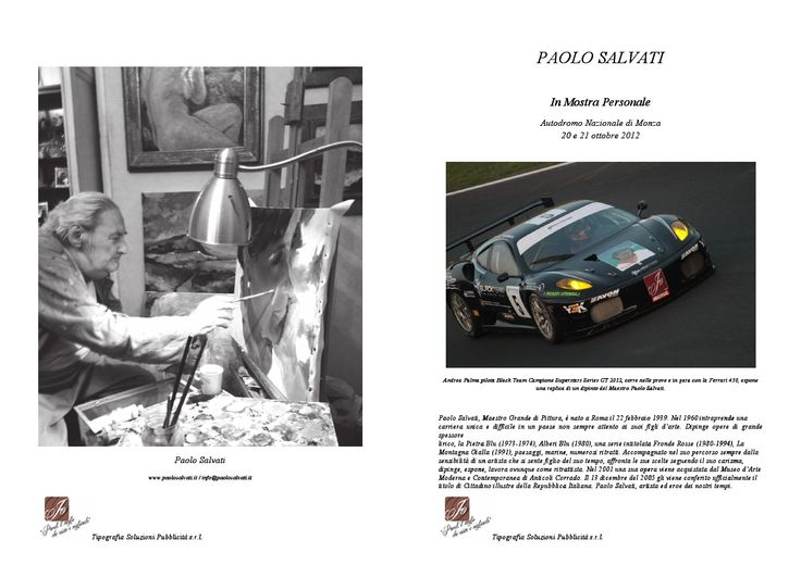 PAOLO SALVATI - Mostra Personale a Monza 20 e 21 ottobre 2012
