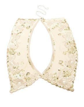 Image 1 ofErin Elizabeth For Johnny Loves Rosie Ashling Embroidered Collar Necklace