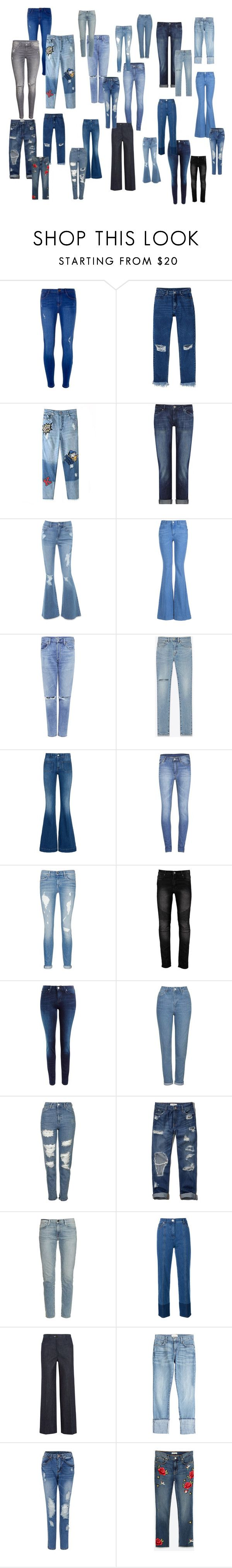 """Wybierz jeansy idealne!"" by marta-waluk on Polyvore featuring moda, Dorothy Perkins, Monki, DL1961 Premium Denim, Bebe, STELLA McCARTNEY, Citizens of Humanity, Yves Saint Laurent, Cheap Monday i rag & bone/JEAN"