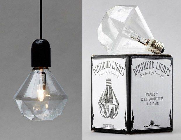 Geometric light bulb