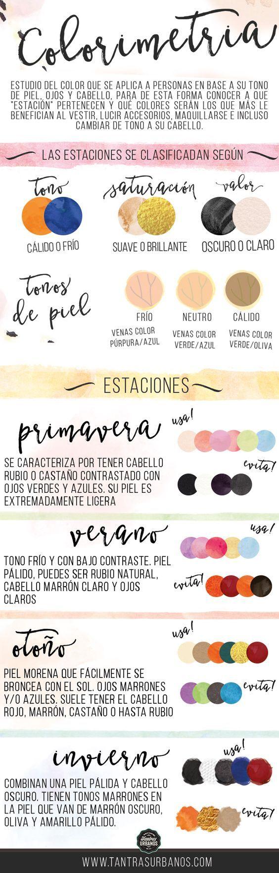 Tantras Urbanos - Colorimetría: Cuando los colores te acompañan: