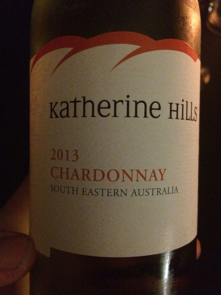 Katherine Hills   Chardonnay South easteren Austrailia