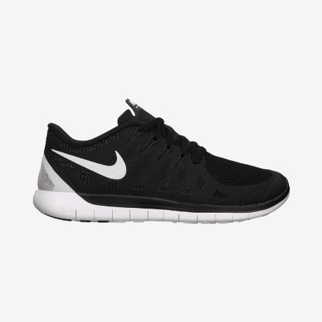 Plain black nikes are cool