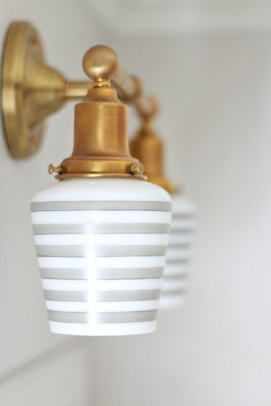 Children's Bathroom Reveal - A Thoughtful Place | Schoolhouse Electric Wall Sconce