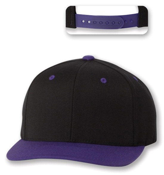This new Yupoong Flat Bill Snapback is my new favourite cap!