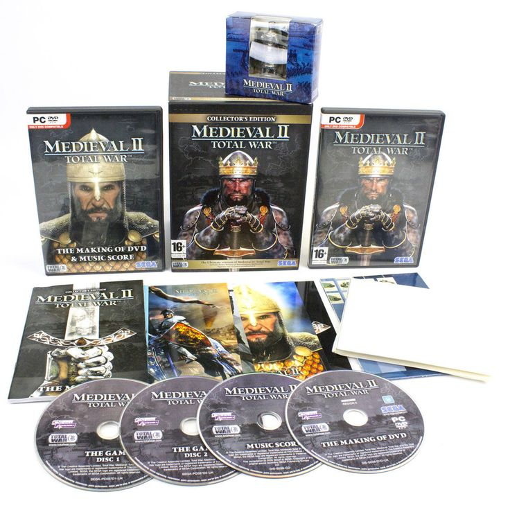 Medieval II Total War Collectors Edition for PC DVD-ROM by Creative Assembly