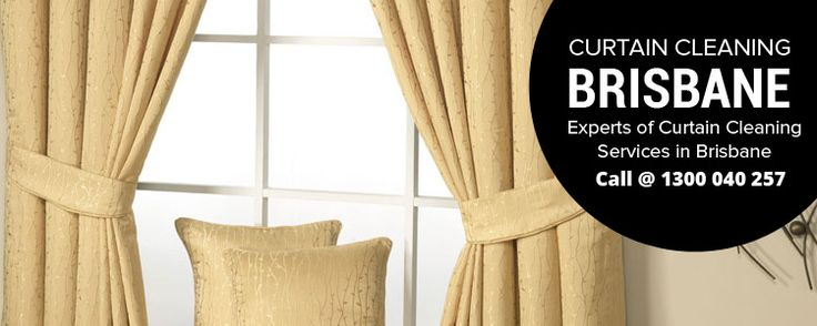 Green Cleaners's Curtain Cleaning Brisbane Team proficient in curtain care solutions. On site curtain steam cleaning including sanitising & deodorising
