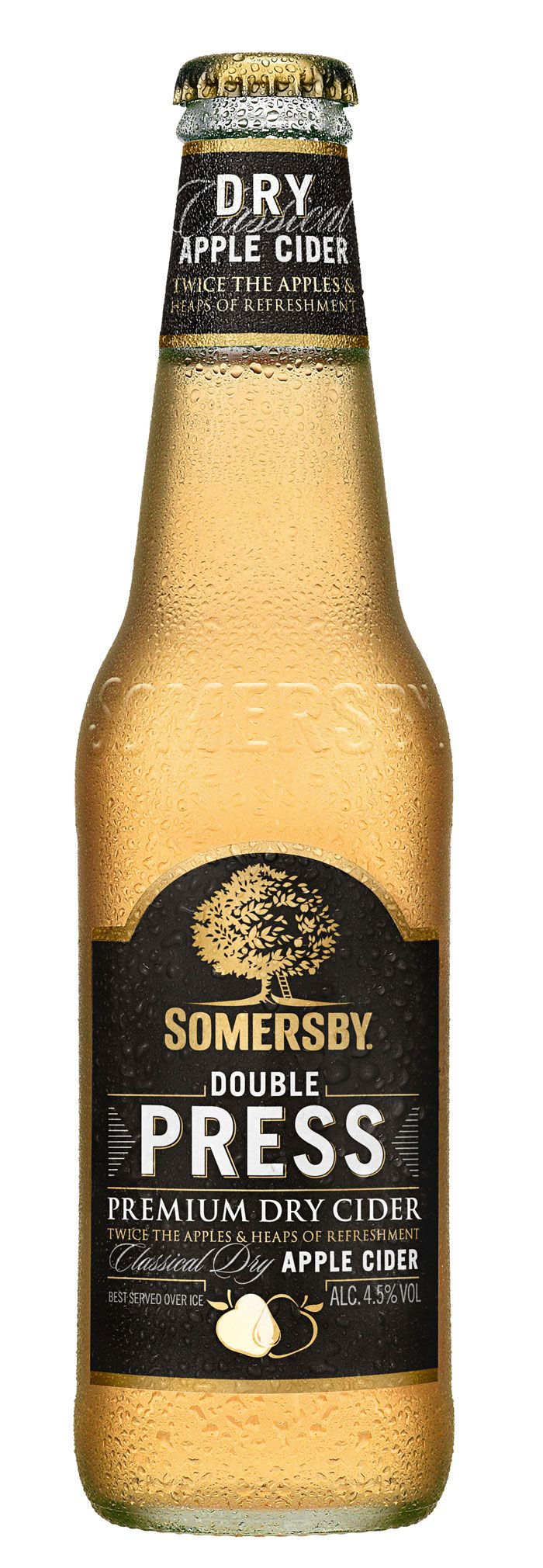 Love this label for Scandanavia's Somersby Cider. Designed by Taxi Studio.