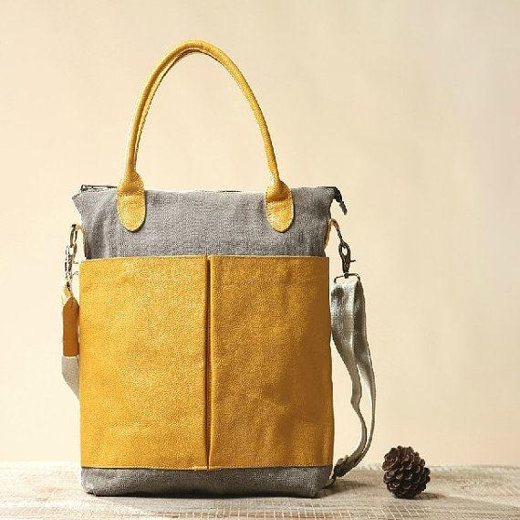 #gelb#frühlingsfarbtyp,Gelb Messenger Tasche, canvas Tasche, Schultertasche, Student Tasche, Clutch Bag, Tasche, Wickeltasche, Tasche