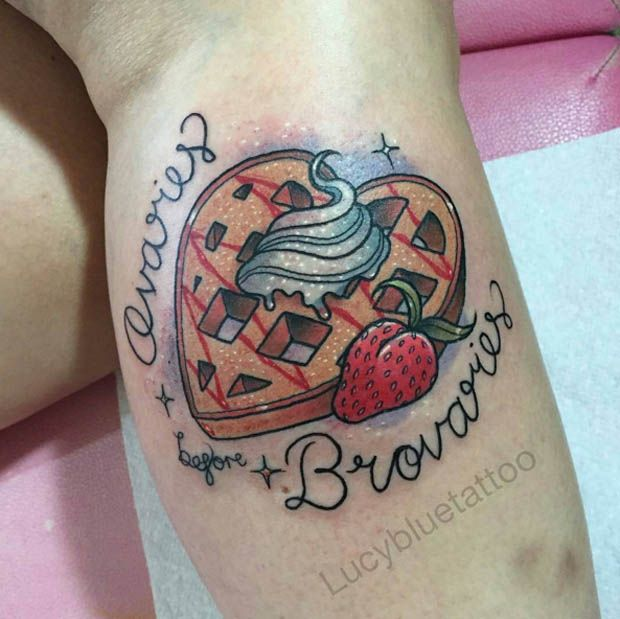 292 Best Images About Food Tattoos On Pinterest