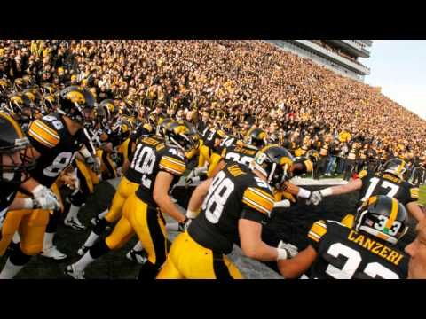 Iowa Fight Song (Rock Version). It's by a band called 'Skin Kandy' for those who are curious!