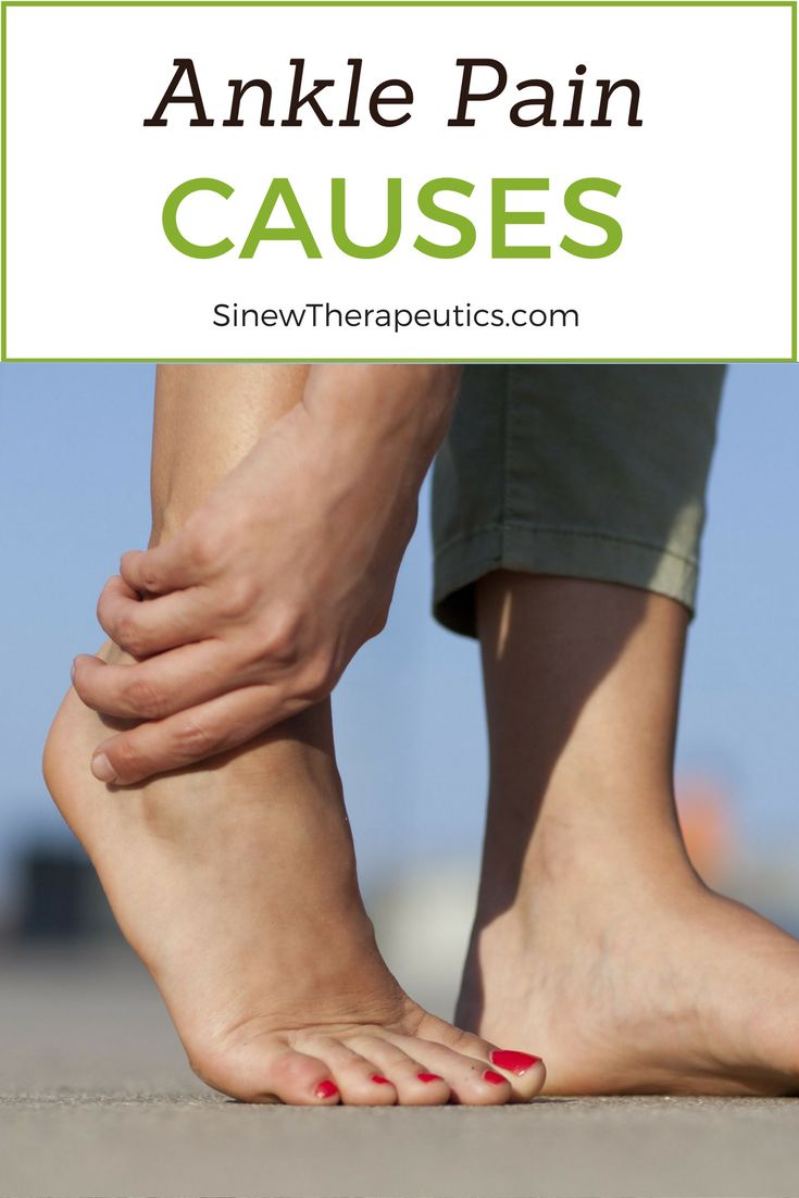 A sprain is an injury to one or more the ligaments in the ankle, and is a common cause of ankle pain. Learn more about ankle pain at SinewTherapeutics.com