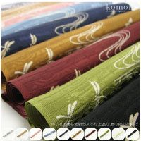 "GL[Women-Obi-Age] Summer silk gauze ""Obi-Age"" (Kimono sash lifter)/ Sash knot keeper or Hider beautifully patterned with dragonflies and water flow/ Patterned background/ N[Designed In Japan]  fs04gm"