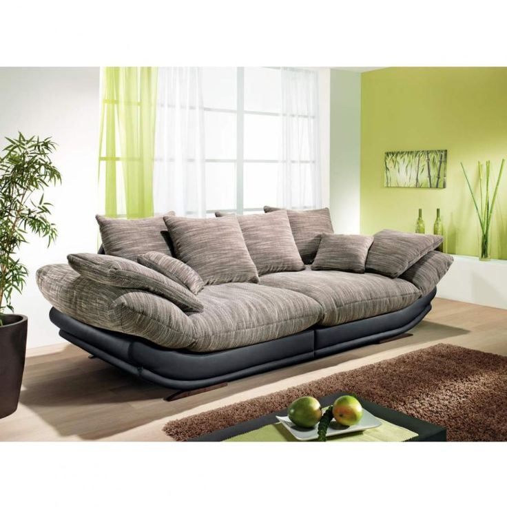 Looks So Comfy From Leiner I Want This Couch