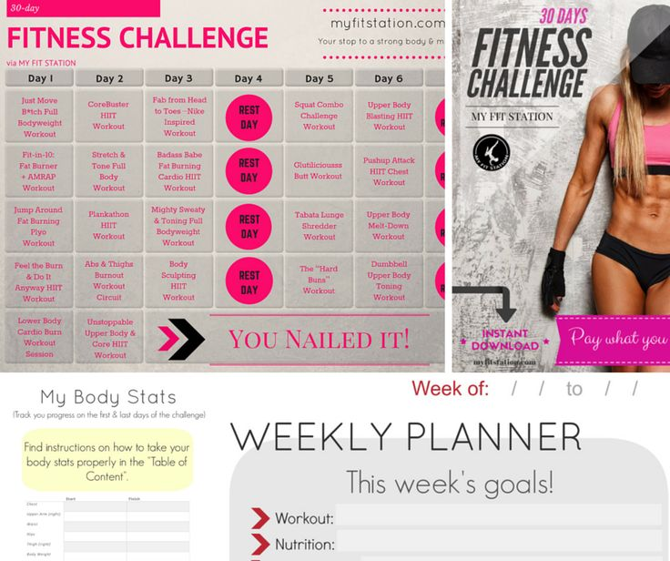 Best Monthly Fitness Challenges Images On   Fitness