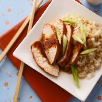 Asian Turkey Steaks: Fastest Ever 'Post-Thanksgiving' Meal!