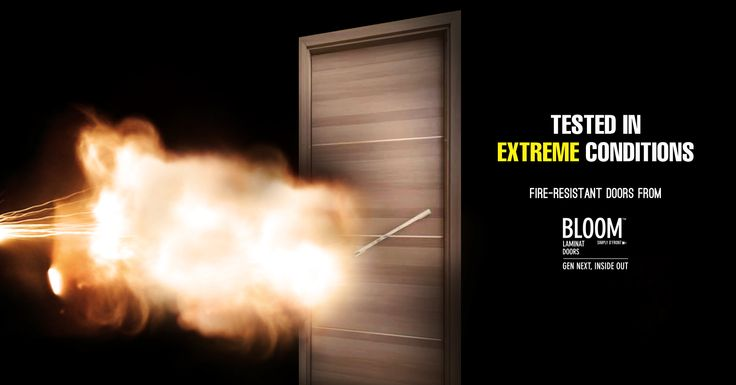 A little spark might be all it takes to start a fire. Bloom brings you fire-resistant doors which can withstand fire, giving you ample amount of time to take the safety route. Available at all our showrooms; click below to have a look at our range.