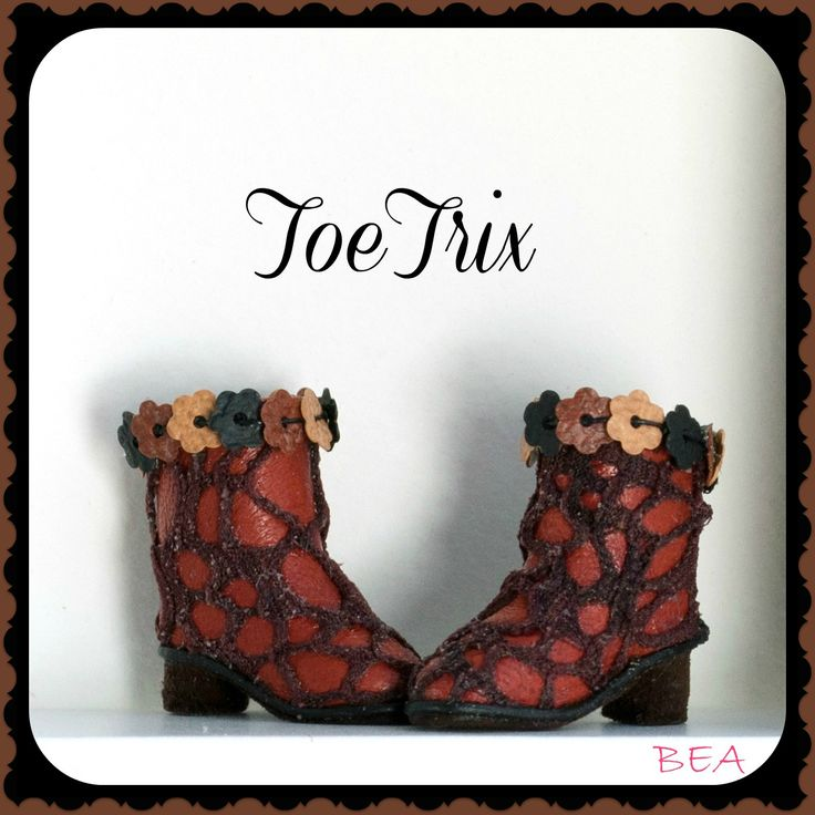 Blythe loves to set the style in ToeTrix