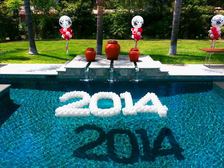 25 best ideas about floating pool decorations on for Pool decor design