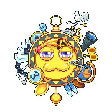 "fluffnglasses: ""Clockwork Suns and Wish Granting Stars. """