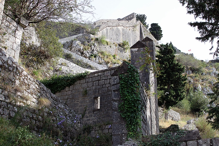 Old fortress walls