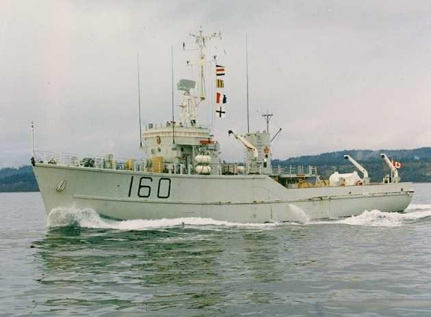 HMCS Chignecto 160