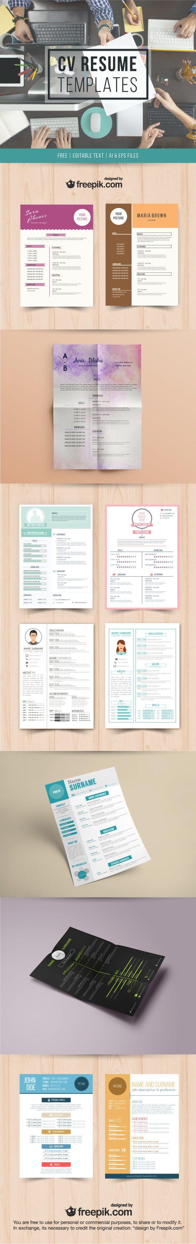 18 best Curriculos artes images on Pinterest | Resume, Resume design ...