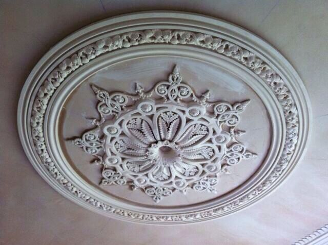 The Sowerby Ceiling Centre.....Recreation of a Victorian Ceiling Rose consisting of approx. 95 pieces...