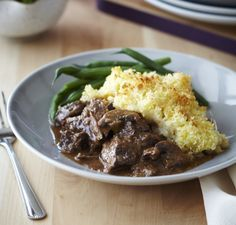 Tender beef potato top crunch - http://chelseawinter.co.nz/potato-top-crunch/