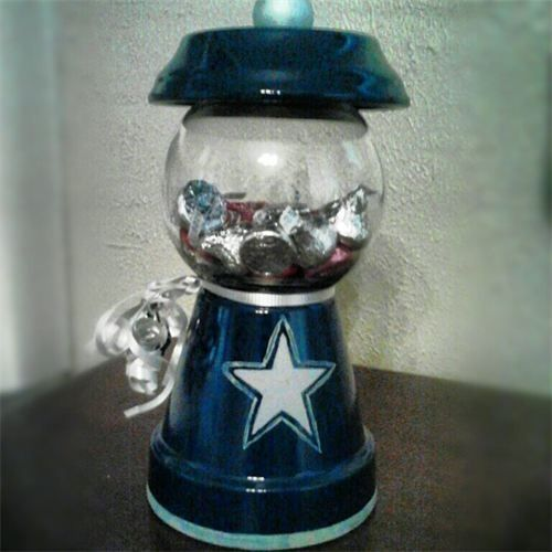 Image result for diy gumball machine dallas cowboys