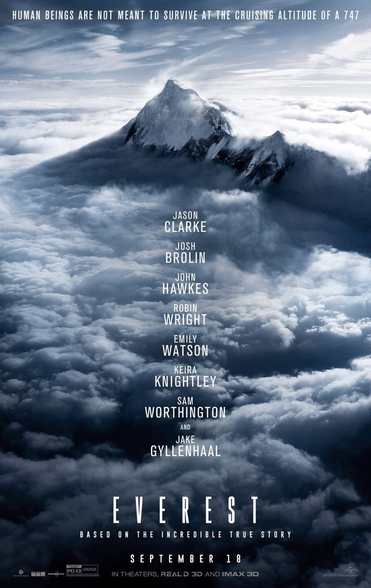 Critics Consensus: Everest boasts all the dizzying cinematography a person could hope to get out a movie about mountain climbers, even if it's content to tread less challenging narrative terrain.